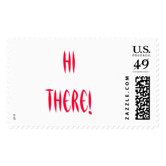 Hi there! Stamp