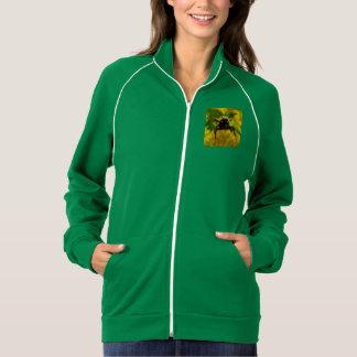 Hi to the Public American Apparel Fleece Track Jacket