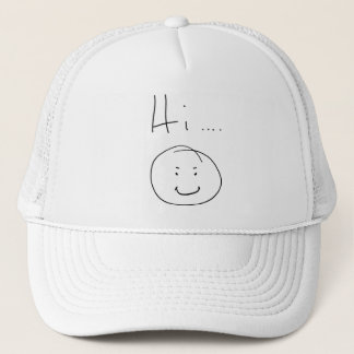"""Hi...."" Trucker Hat"