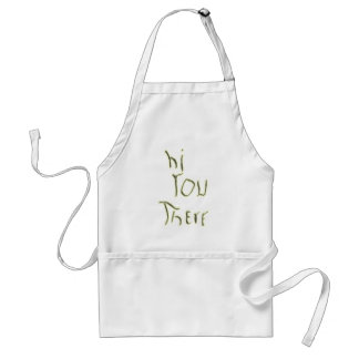 Hi You There glow in the dark Adult Apron