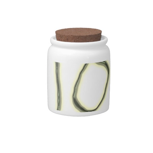 Hi You There glow in the dark Candy Jar