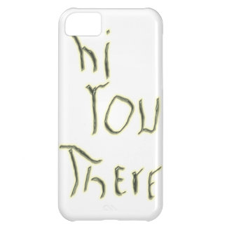 Hi You There glow in the dark iPhone 5C Case