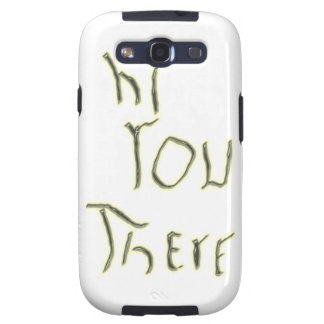 Hi You There glow in the dark Galaxy S3 Case