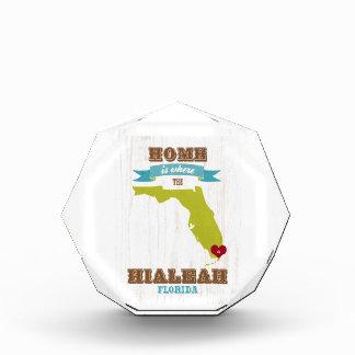 Hialeah, Florida Map – Home Is Where The Heart Is Award