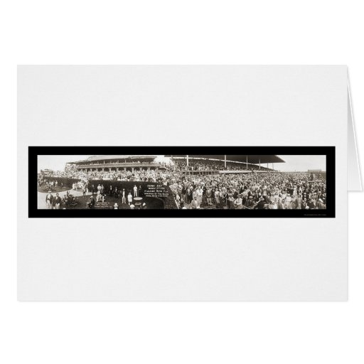Hialeah Park FL Derby Photo 1931 Greeting Cards