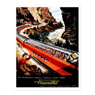 Hiawatha olímpico postales