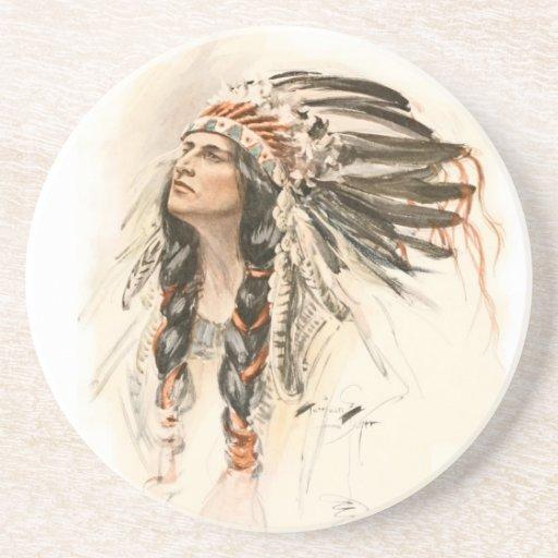Hiawatha Posavasos Personalizados