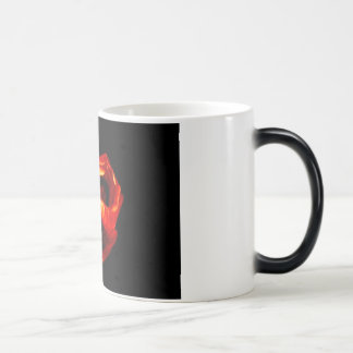 Hib Flower 11 Oz Magic Heat Color-Changing Coffee Mug
