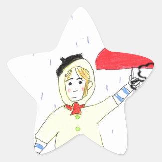 Hibernadero effect star sticker