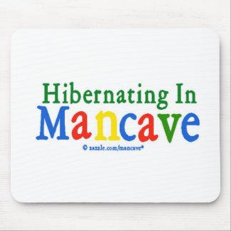 Hibernating in Mancave Mouse Pad