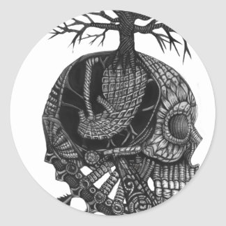 Hibernation Classic Round Sticker