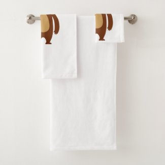 Hibernation Rotation Bath Towel Set