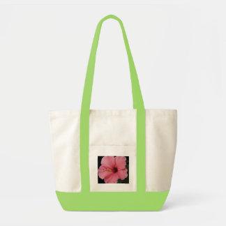 Hibisco coralino bolsa de mano