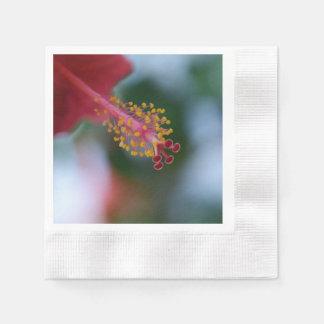 Hibisco de la flor servilletas de papel