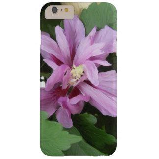 Hibisco de la lila funda de iPhone 6 plus barely there