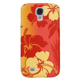 Hibisco de la mezcla de Kona Funda Para Galaxy S4