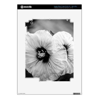 Hibisco de la placa de cena iPad 3 skins