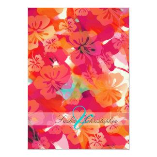 Hibisco de PixDezines Maui Invitaciones Personalizada