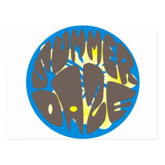 Hibisco del azul del deslumbramiento del verano postales