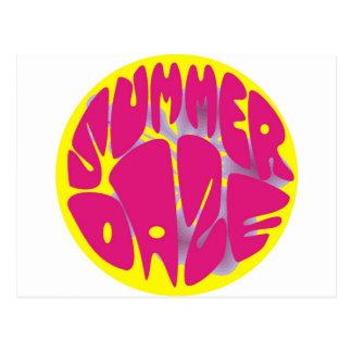 Hibisco del deslumbramiento del verano tarjeta postal
