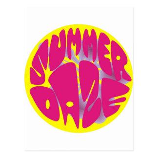 Hibisco del deslumbramiento del verano tarjetas postales