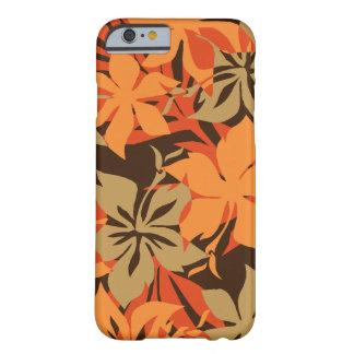 Hibisco del Hawaiian de Kaanapali Camo Funda De iPhone 6 Barely There