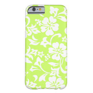 Hibisco del Hawaiian de Kapalua Pareau Funda De iPhone 6 Barely There