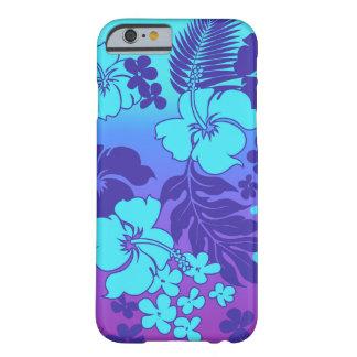 Hibisco del Hawaiian de la mezcla de Kona Funda De iPhone 6 Barely There