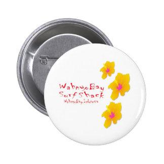 Hibisco del WB Pin Redondo 5 Cm