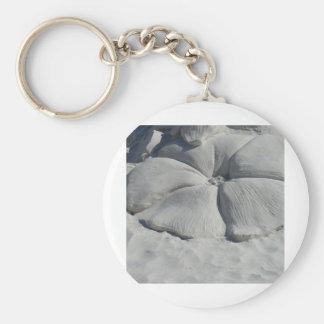 Hibisco en arena llavero personalizado