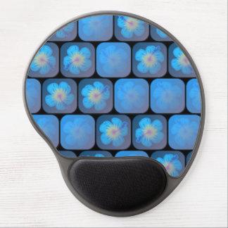 Hibisco en gel azul alfombrilla con gel