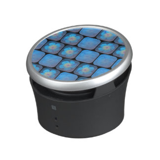 Hibisco en gel azul altavoz con bluetooth