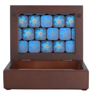 Hibisco en gel azul cajas de recuerdos