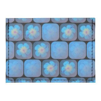 Hibisco en gel azul tarjeteros tyvek®