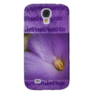 Hibisco feliz de la púrpura de la diversión de la
