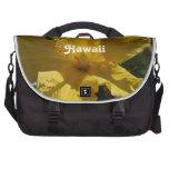 Hibisco hawaiano bolsa para ordenador