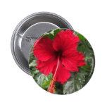 Hibisco rojo 1 pin