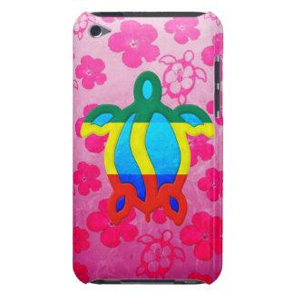 Hibisco rosado de Rasta Honu Case-Mate iPod Touch Protector