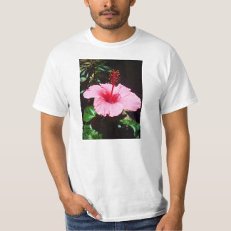 Hibisco rosado en The Sun Playera