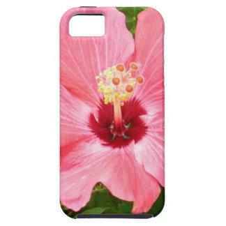 Hibisco rosado iPhone 5 Case-Mate cárcasas