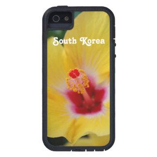 Hibisco surcoreano funda para iPhone 5 tough xtreme