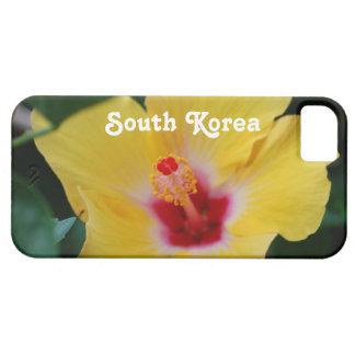 Hibisco surcoreano iPhone 5 carcasa