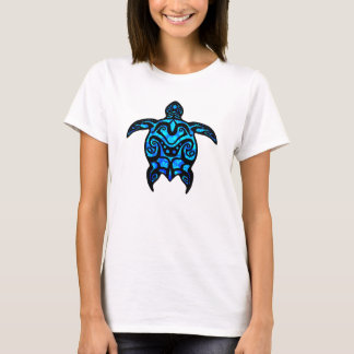 Hibisco tribal de la tortuga playera