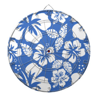 Hibisco tropical del azul cerúleo