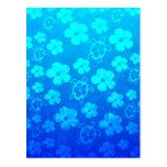 Hibisco y tortugas azules de Honu Postal