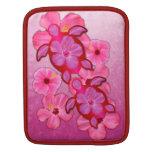 Hibisco y tortugas rosados de Honu Funda Para iPads