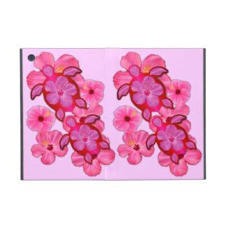 Hibisco y tortugas rosados de Honu iPad Mini Fundas