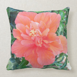 """*Hibiscus* 20"""" x 20"""" Pillow"""