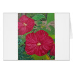 Hibiscus #3 Painting Greeting Card