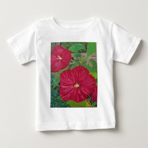 Hibiscus #3 Painting Infant T-shirt